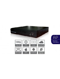 DVR AHD 4 CH,H264,100IPS,1HD,UTC
