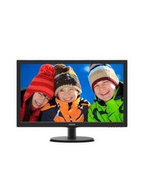 PHILIPS LED 21.5 Wide 223V5LHSB2/00 0.248 1920x1080 Full HD 5ms 200cd/m² 600:1(10.000.000:1) HDMI VESA Inclinabile Blac